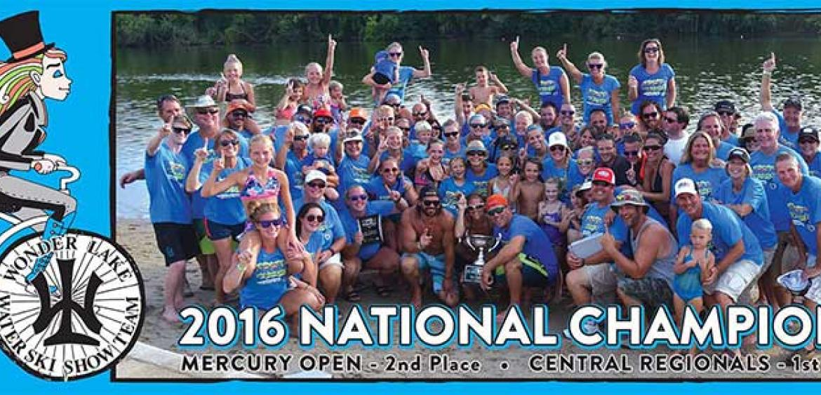 2016 national team title at the 42nd Indmar Marine Engines Division 1 Show Ski National Championships